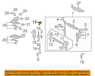 AUDI OEM 15-16 A3 Radiator Core Support-Seal Strip Right 8V0121230