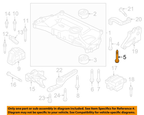 engine transmission diagram engine transmission mounting engine cradle mount bolt n91143301 ebay  engine cradle mount bolt n91143301