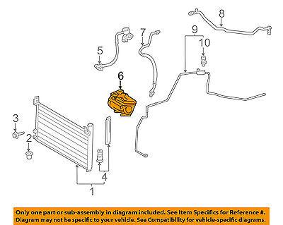 Lexus TOYOTA OEM 11-15 CT200h-A/C AC Compressor 8837076020