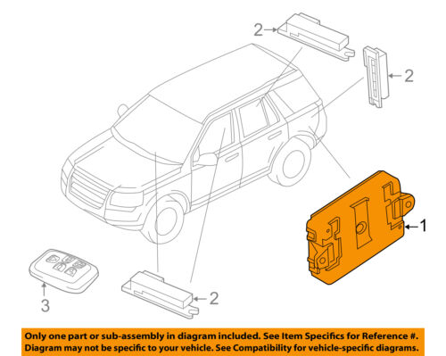 LAND ROVER OEM 10-13 Range Rover Sport Anti-Theft Alarm-Control Module LR052871