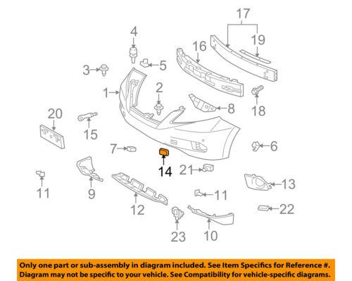 Lexus TOYOTA OEM RX350 Bumper-Foglight or Tow Hook Cover Cap Left 521280E913
