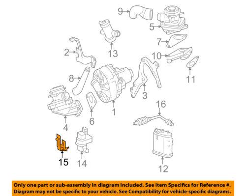 BRAND NEW VAPOR CANISTER PURGE VALVE FITS 08-12 MERCEDES C300 3.0L V6