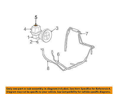 GM OEM Power Steering Pump-Reservoir Tank Cap 26095340