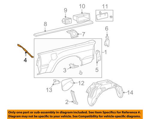 Lh 6.5/' Bed 2002-2009 Dodge Ram Bedside-Lower Front Section