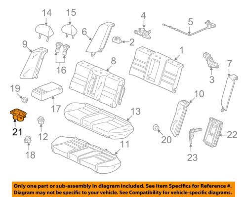 Honda Genuine 82183-SDA-A11ZJ Armrest Cup Holder