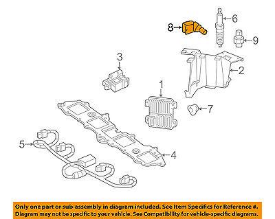 GM OEM-Engine Crankshaft Crank Position Sensor CPS 12585546