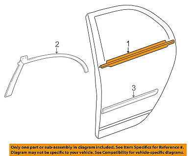 TOYOTA OEM 05-08 Corolla Rear-Window Sweep Belt Felt Molding Left 7574012352 for sale  Shipping to Canada