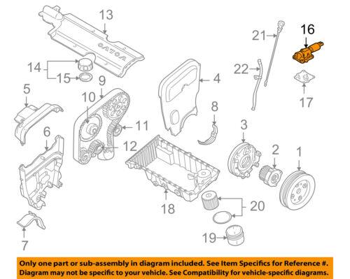 Volvo Oem 02 09 S60 Variable Valve Timing Solenoid 31355829