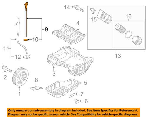 HYUNDAI OEM 15-16 Genesis 3.8L-V6 Engine-Oil Fluid Dipstick 266113CKA0 |  eBay | Hyundai 3 8l V6 Engine Diagram |  | eBay
