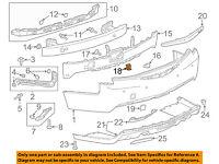 Cadillac GM OEM 13-18 ATS Rear Bumper-Side Retainer Bracket Left 84267637