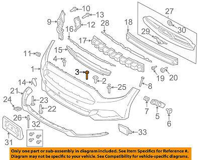 FORD OEM 13-14 Mustang-Bumper Trim-Molding Trim DR3Z8419BA