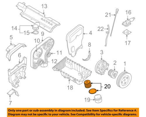 volvo oem 99 07 v70 engine oil filter 1275810 ebay20 on diagram only genuine oe factory original item