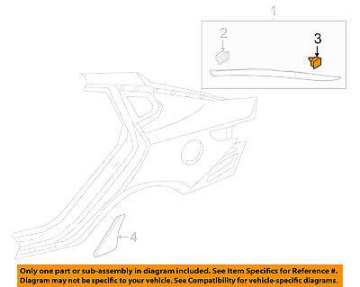 KIA OEM 12-18 Rio Exterior-Applique Clip 8581837000