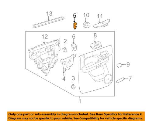 Tan GM OEM-Door Lock Knob 15844617 Cashmere