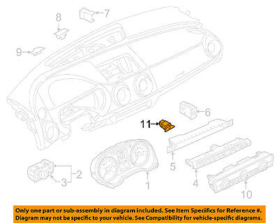 AUDI OEM 17-18 A3 Speed scribble Cluster Switch-Button 8V0907569