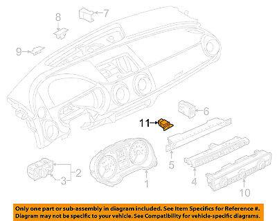 AUDI OEM 17-18 A3 Dart Cluster Switch-Button 8V0907569