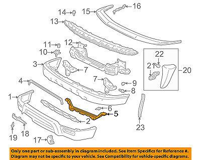 TOYOTA OEM 99-02 4Runner Front Bumper-Filler 5254235010
