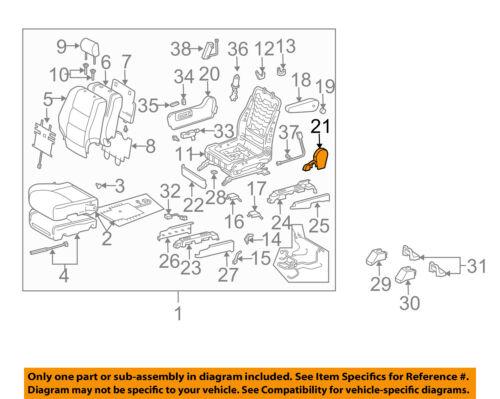 TOYOTA Genuine 71861-60090-A0 Seat Cushion Shield