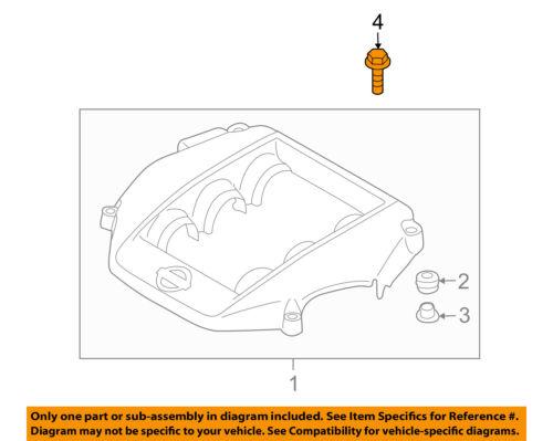 Genuine Nissan Engine Cover Bolt 16122-5Y70A