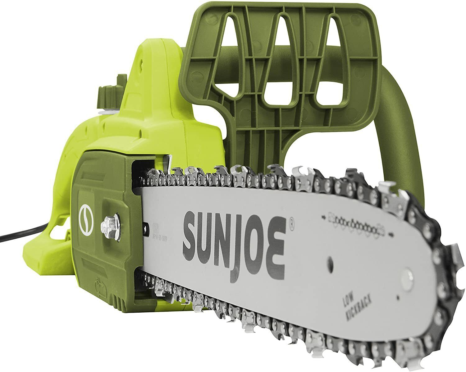 Chain Saw Green Electric Pruner Tree Branch Limb Trimmer Cut
