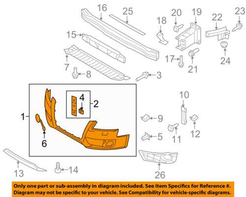 AUDI OEM 09-12 A4 Quattro-Bumper Cover 8K0807105DGRU