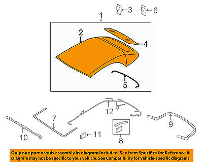 AUDI OEM 10-16 S5 Convertible Soft Top-Roof Assy 8F0871035A2Y5