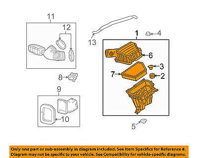 Chevrolet GM OEM 12-15 Camaro Air Cleaner Intake-Filter Box Housing 92240654