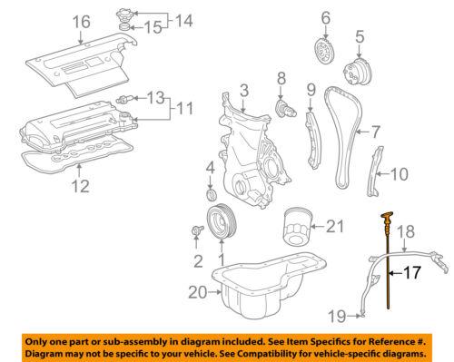 TOYOTA OEM 00-05 MR2 Spyder Engine-Oil Fluid Dipstick 1530122040 | eBayeBay