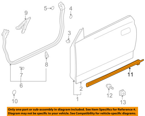 Toyota Oem Celica Doorwindow Sweep Belt Molding Weatherstrip Right Rhebay: 1974 Celica Parts Schematic At Gmaili.net
