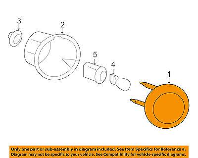 Chevrolet GM OEM 06-11 HHR Backup Light Back Up Lamp-Assy Left 20778528