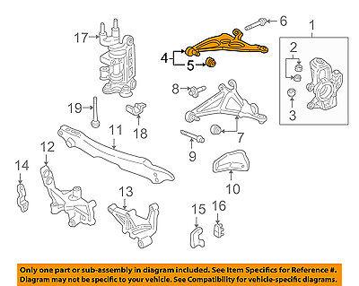 Acura HONDA OEM 91-92 NSX-Front Upper Control Arm 51450SL0010