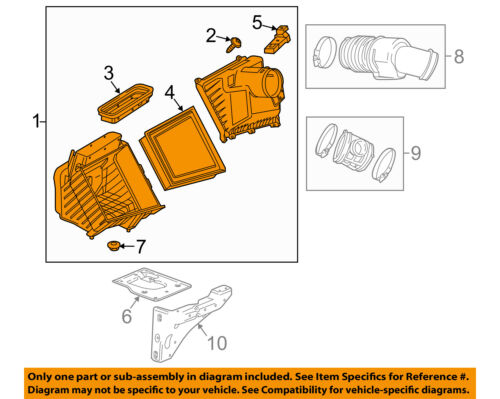 GM OEM ENGINE-Air Cleaner Assembly 84262964