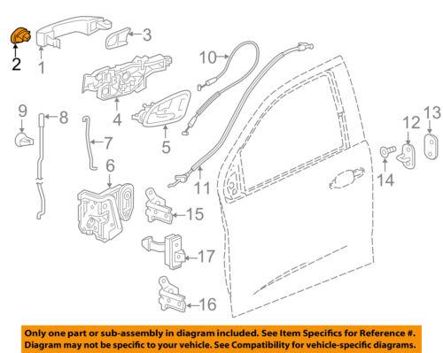 Genuine GM Escutcheon 13598328