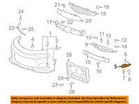 Front bumper bracket right 05459
