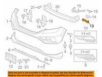 HONDA OEM 12-14 CR-V Front Bumper-Side Duct Left 71107T0AA00ZA