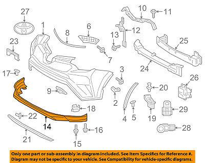 TOYOTA OEM 16-18 RAV4 Front Bumper Grille Grill-Lower Panel 524110R060