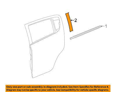 Chevrolet GM OEM 12-18 Sonic Exterior-Rear-Black Out Tape Left 95173684