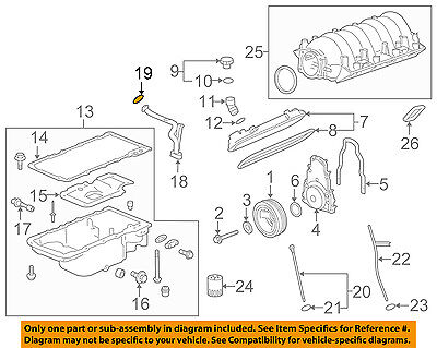 Chevrolet GM OEM 10-15 Camaro 6.2L-V8 Engine-Suction Pipe Seal 12584922