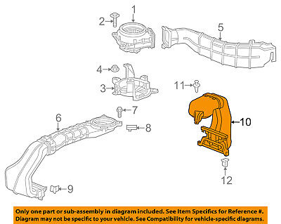 GM OEM Electrical-Outlet Duct 25918657