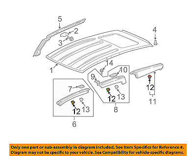 HONDA OEM 03-11 Element Exterior-Pillar Trim Clip 91502SCVA00