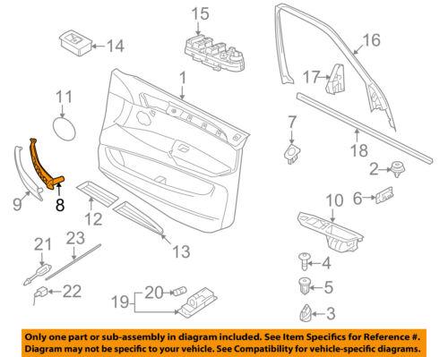 bmw oem 07 13 x5 interior rear door pull handle right 51416969404 ebay rh ebay com E92 4 Door M3 BMW bmw x5 door lock wiring diagram