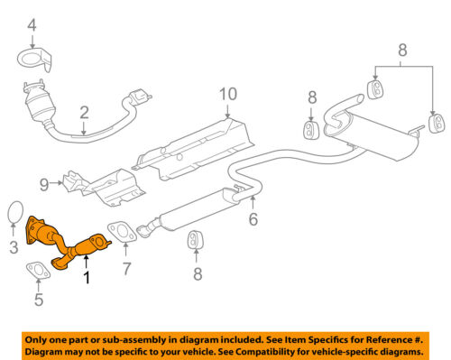 Gm Oem Catalytic Converter 15943284 Ebay