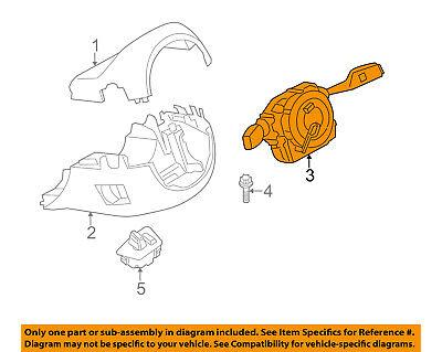 BMW OEM 13-16 M5-Turn Signal Switch Lever Control Handle 61319354048