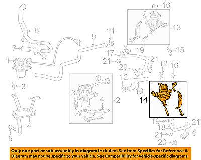TOYOTA OEM 07-09 Tundra A.i.r. System-Diverter Valve 2571050032
