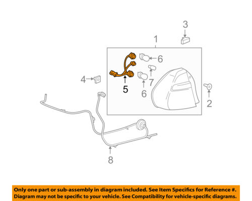Rear Tail Light Wiring Diagram