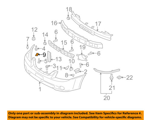 KIA Oem Spectra Front Bumpercover Retainer Clip Or Bracket Right. Seller Payment Information. KIA. KIA Spectra Fender Parts Diagram At Scoala.co