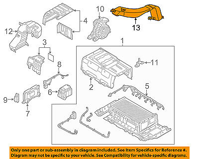 HYUNDAI OEM 11-15 Sonata 2.4L-L4 Electrical-Outlet Duct 375734R000