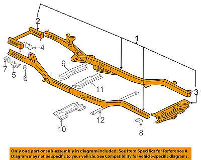 GM OEM-Frame Assembly 15887727