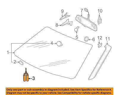 AUDI OEM 04-17 A8 Quattro Windshield-Adhesive Kit D004660M2