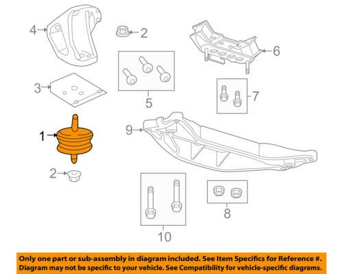 Saturn GM OEM 04-07 Vue-Engine Motor Mount//Torque Strut 22684872
